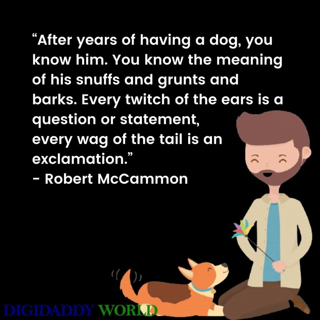 Love For Dog Quotes