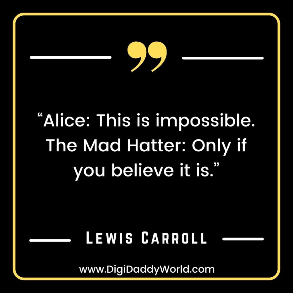 Alice in wonderland quotes images