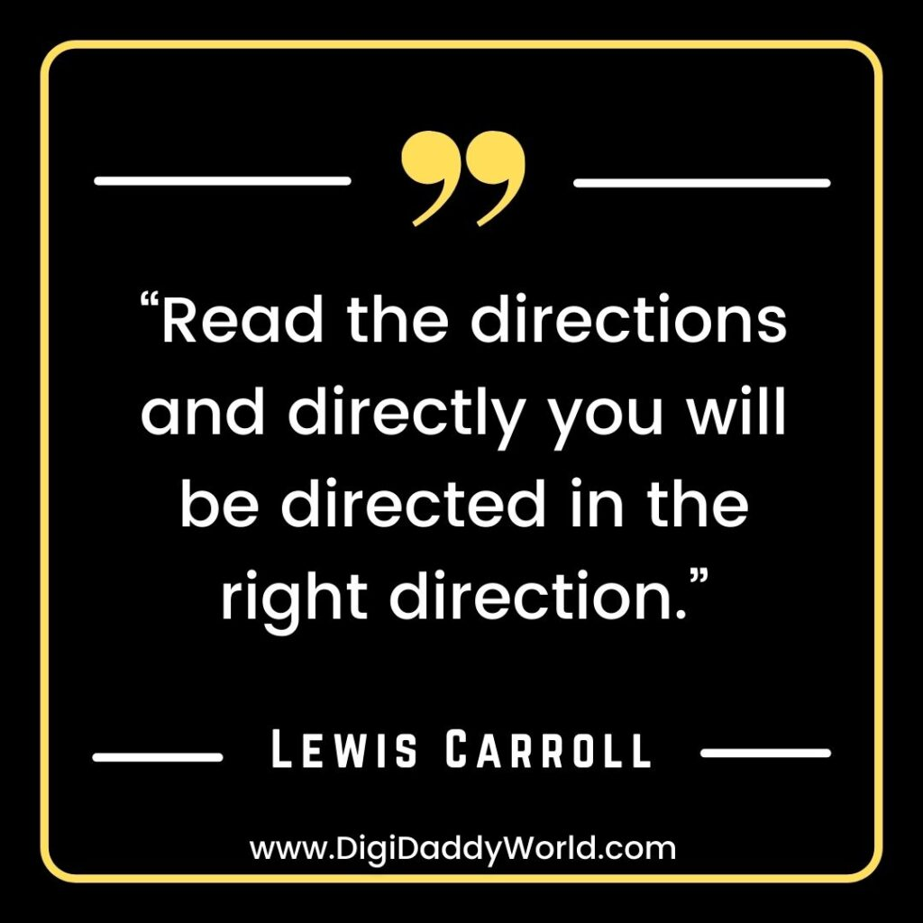 Lewis Carroll Quotes images
