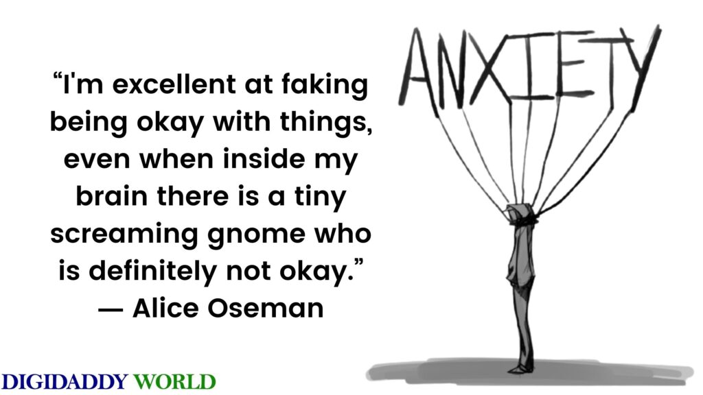 Quotes On Anxiety And Depression