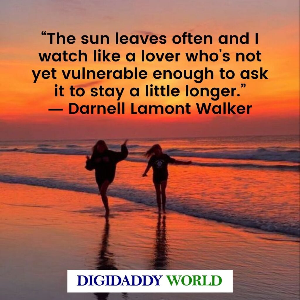 Beautiful Sunset View Quotes