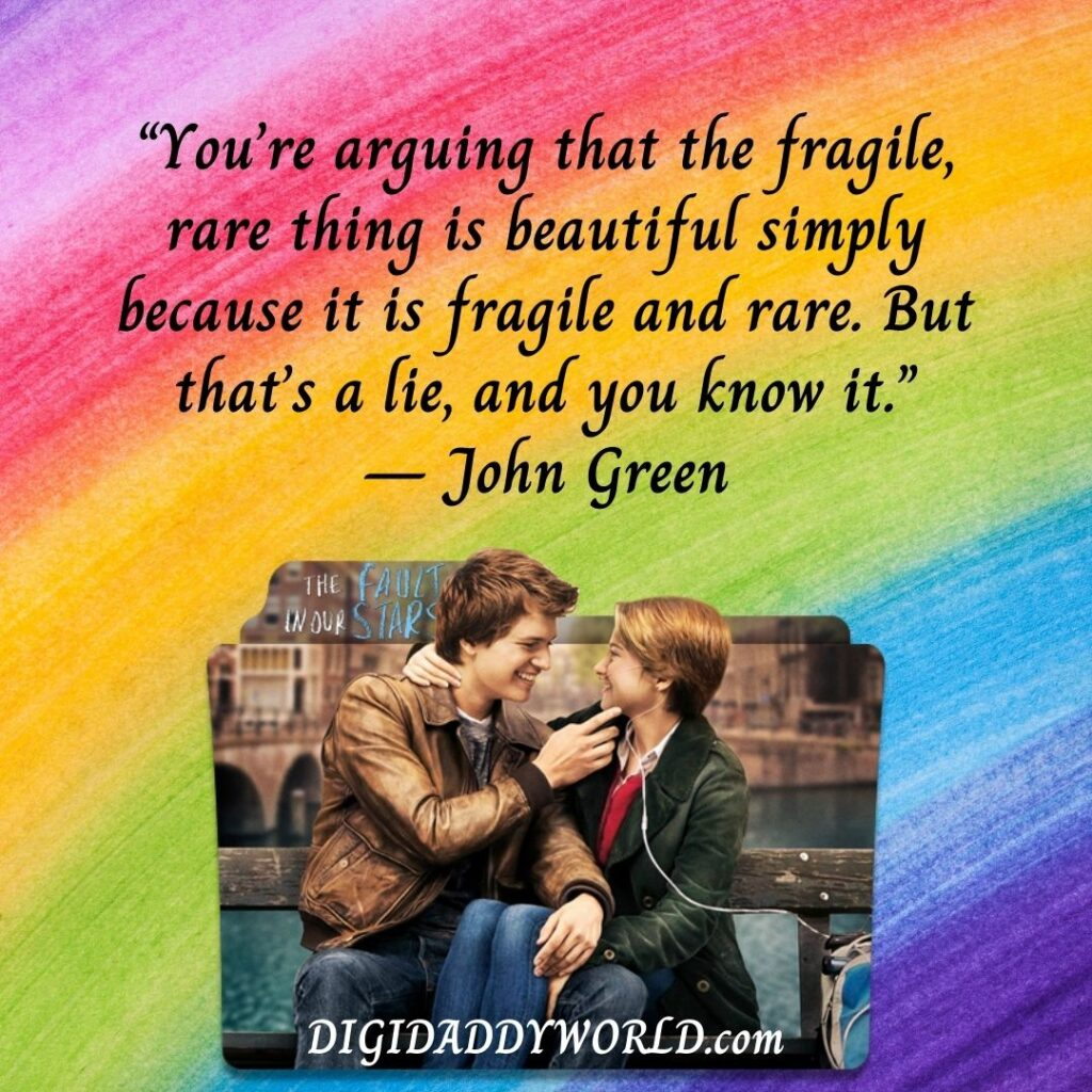 Best Quotes From The Fault In Our Stars