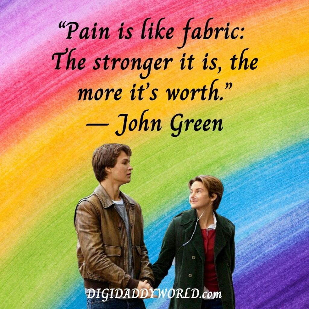 The Fault In Our Stars Book Quotes