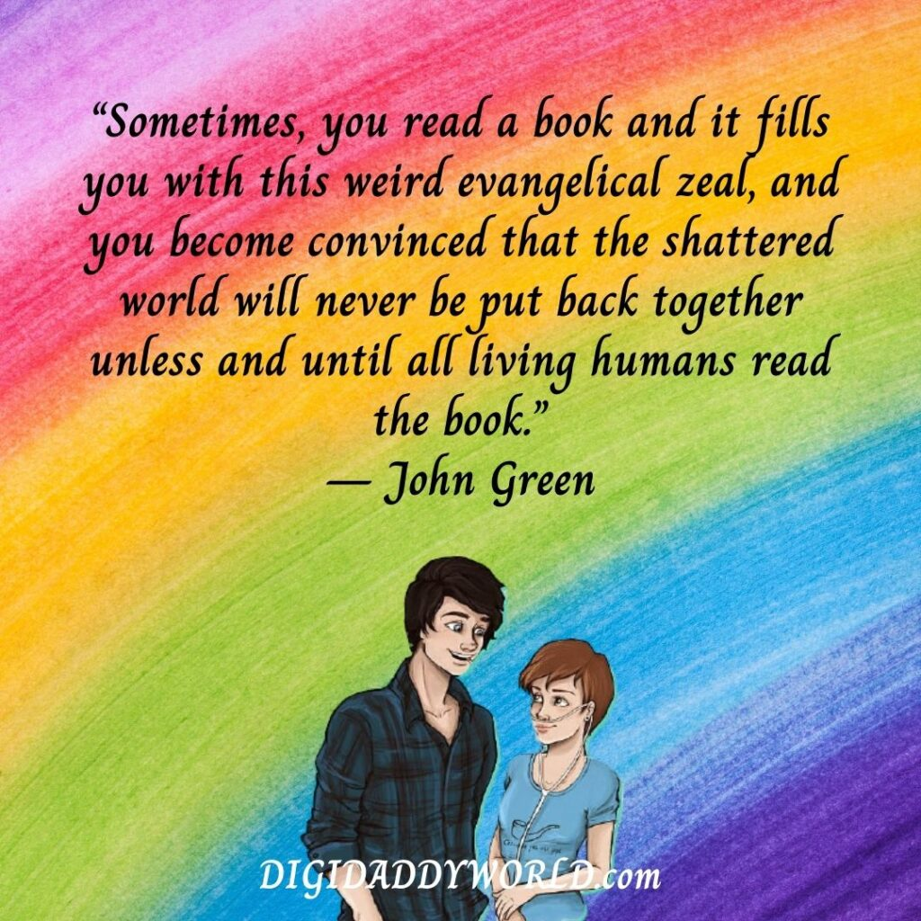 The Fault In Our Stars Quotes About Love