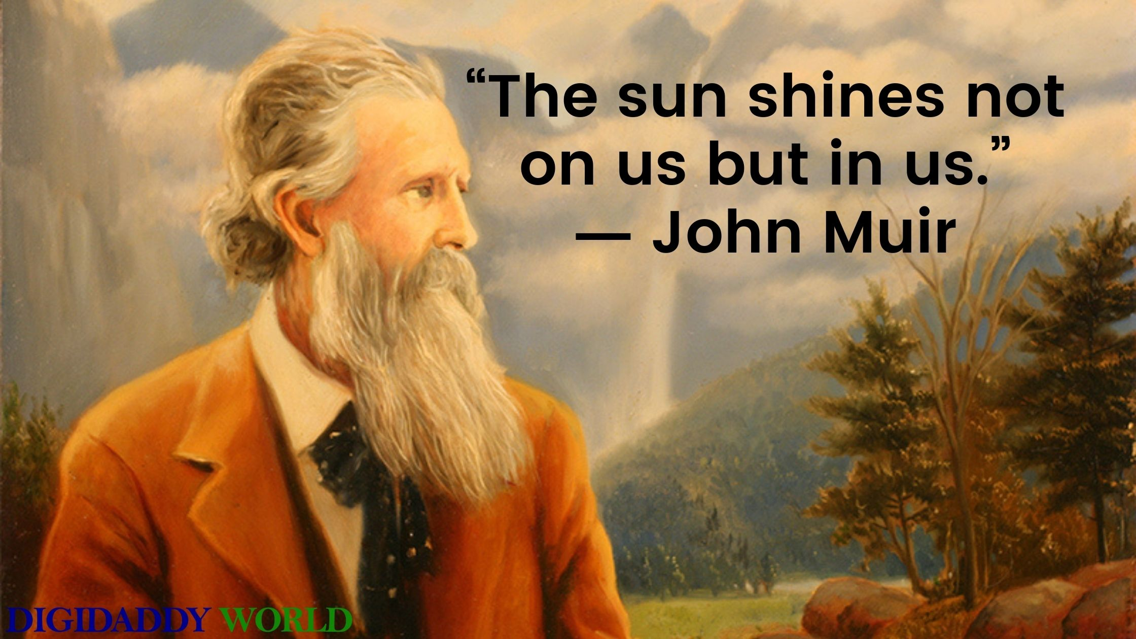 Best John Muir Quotes On Trees
