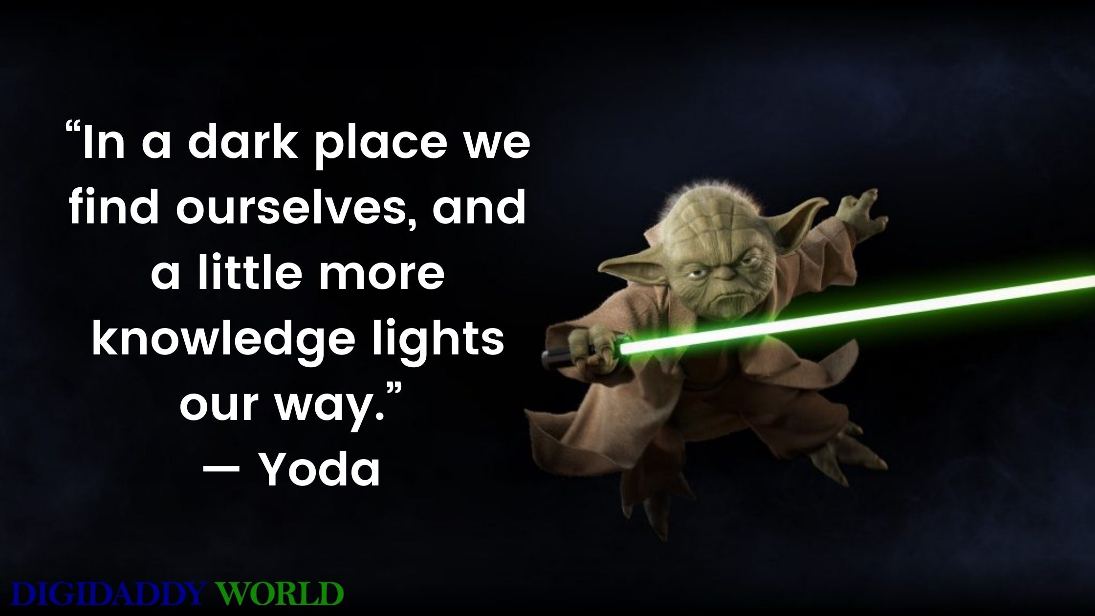 Best Master Yoda Quotes
