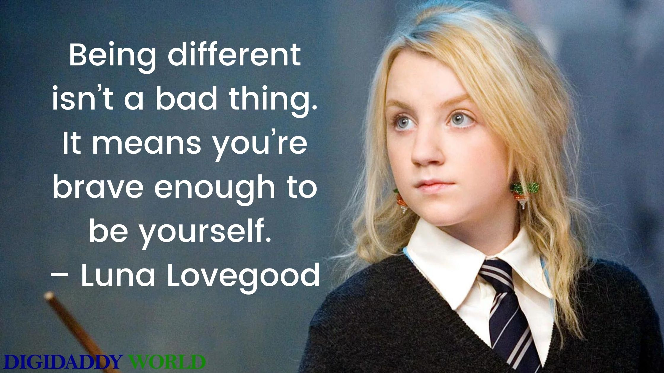 Luna Lovegood Quotes About Being Different