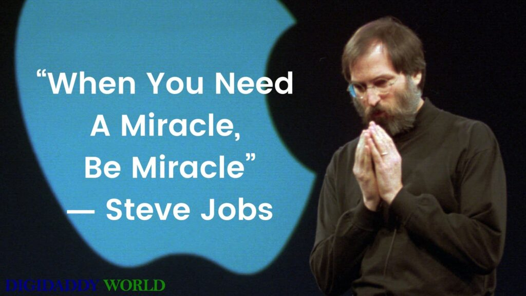 Steve Jobs Motivational Quotes On Life, Work, Success