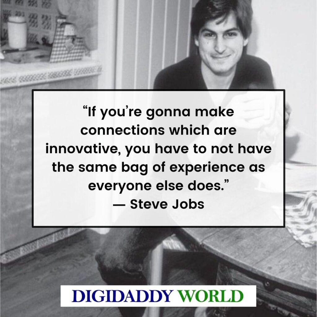 Steve Jobs Best Quotes, Sayings, Phrases