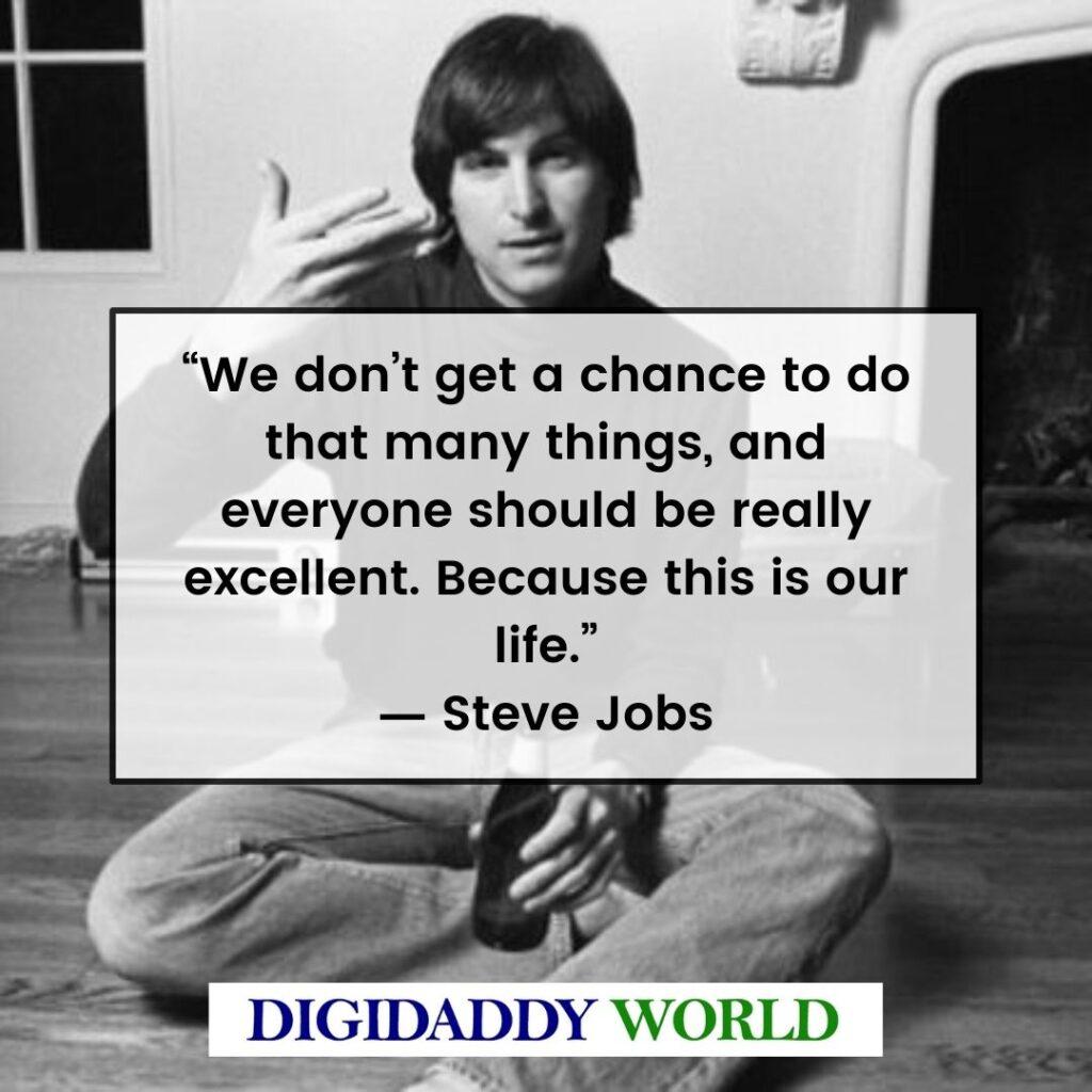 Steve Jobs Words Of Inspiration