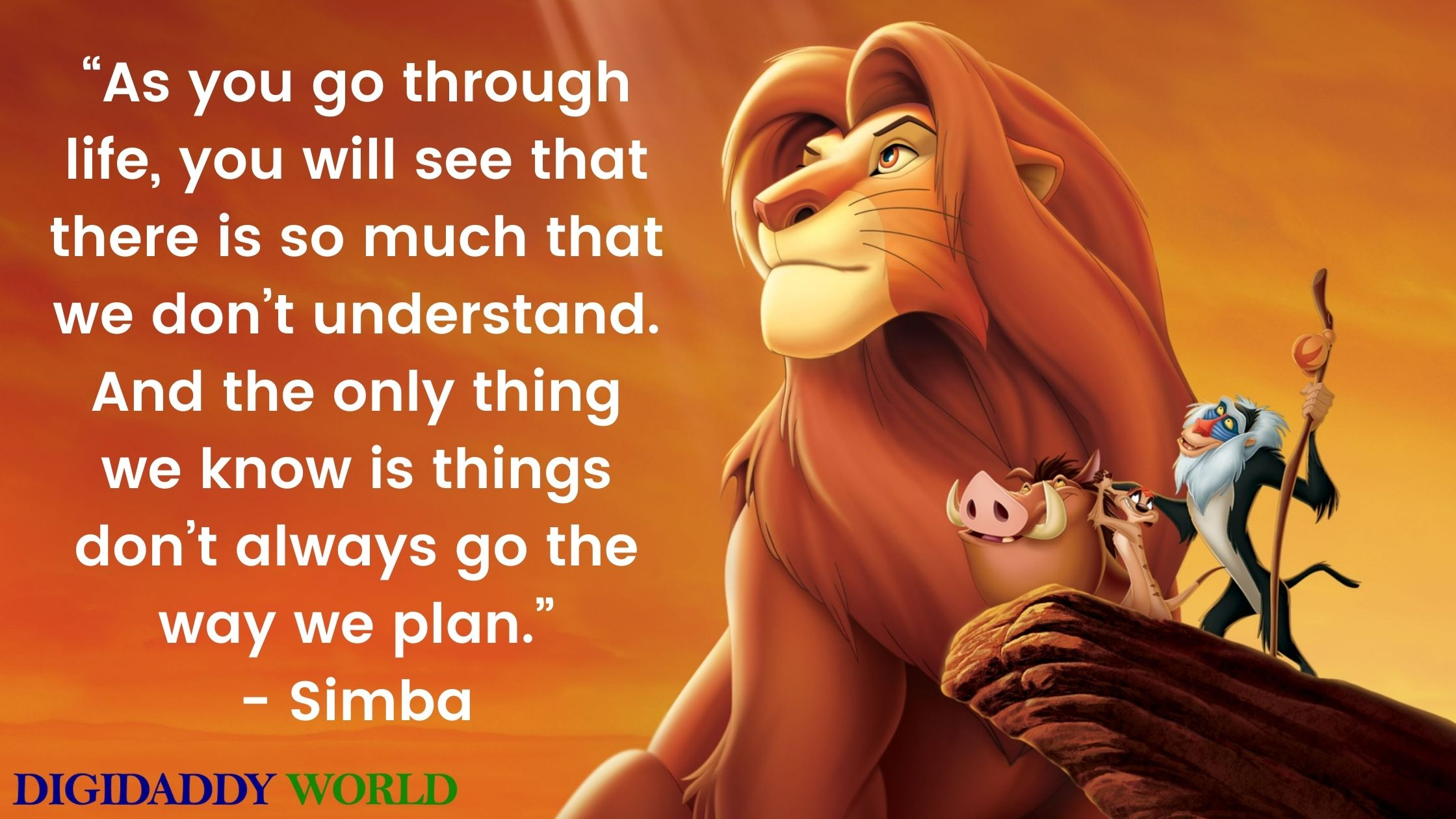 The Lion King Simba Quotes