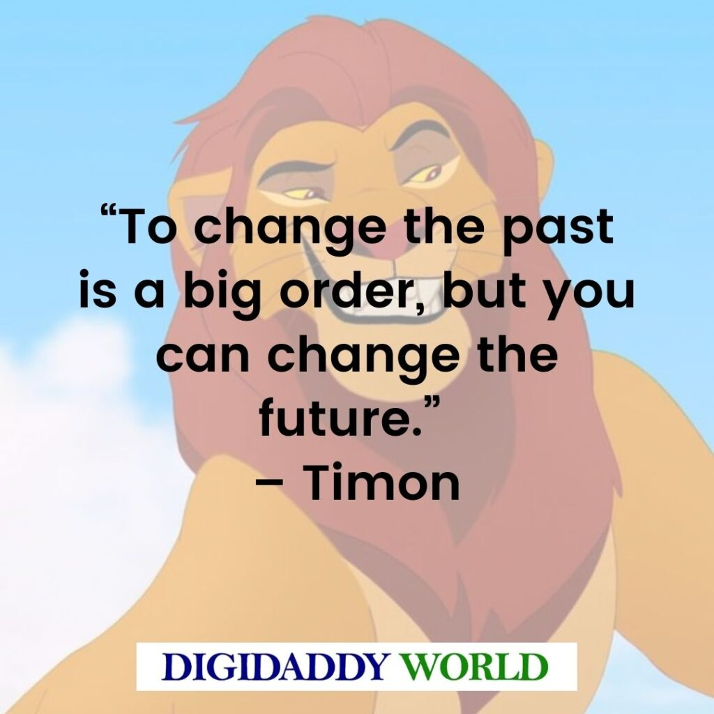 The Lion King Quotes and Dialogue