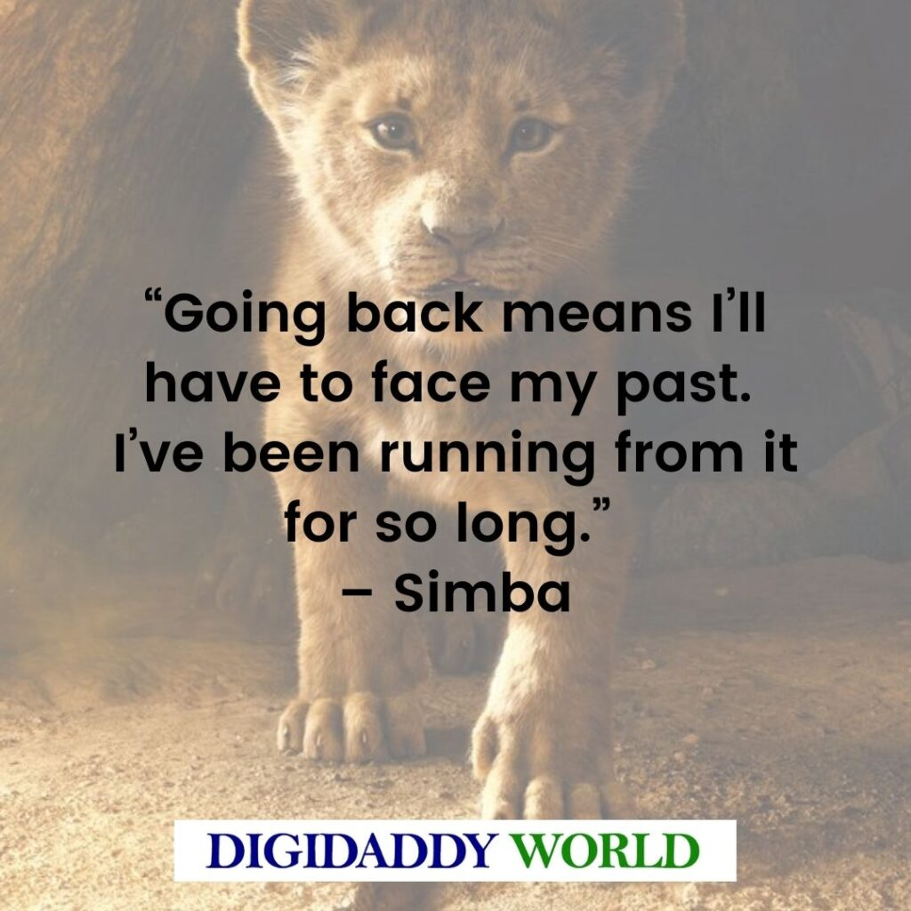 Lion King Of The Jungle Quotes
