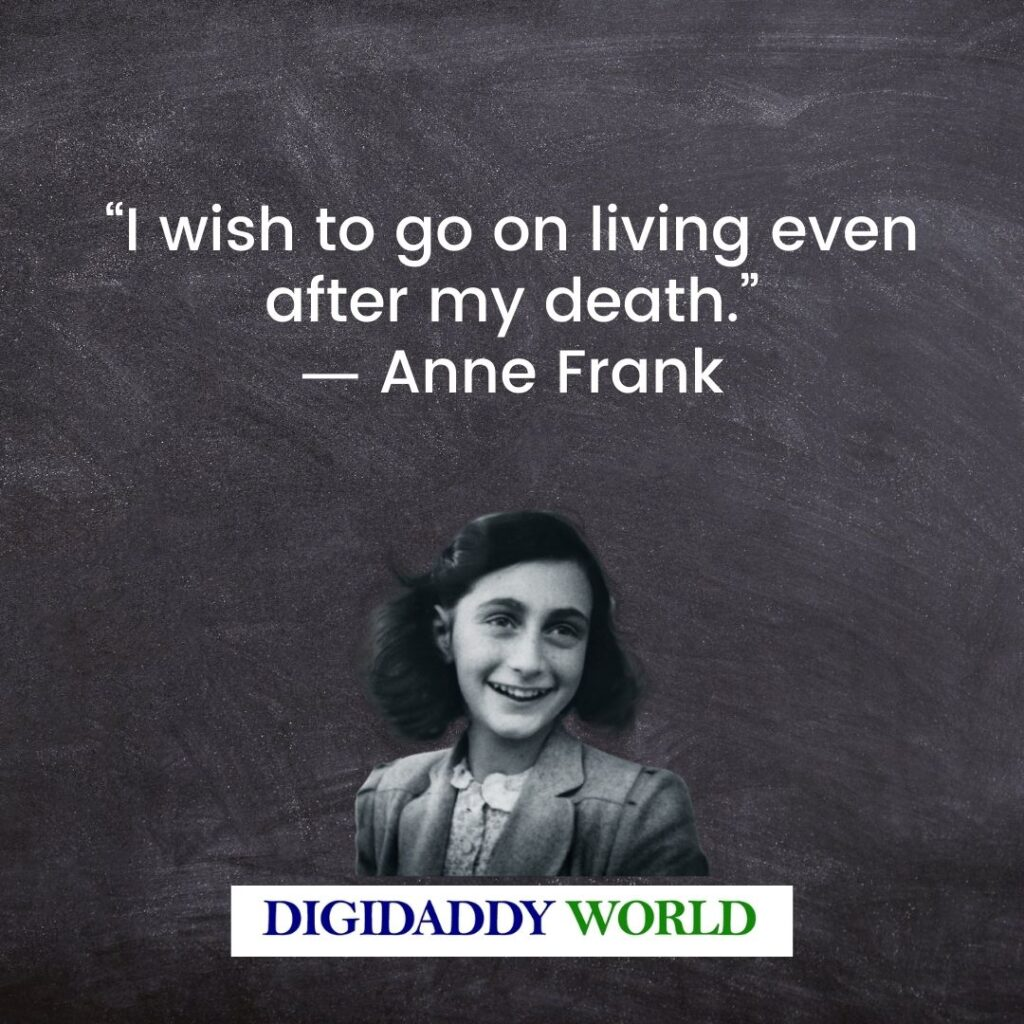 Anne Frank Quotes About Identity