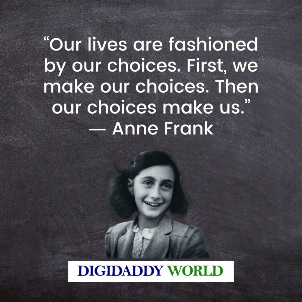 Anne Frank Quotes About Death