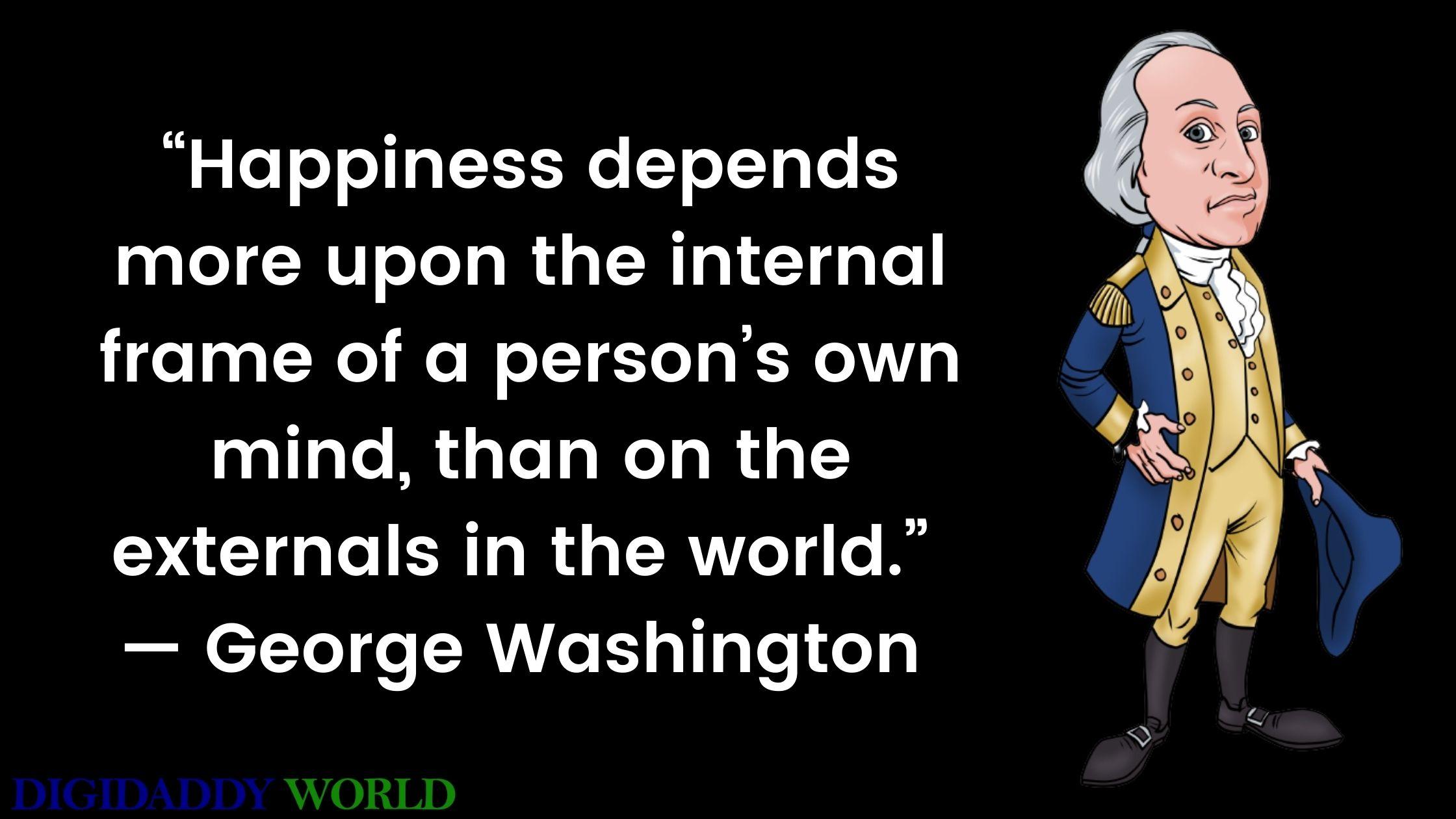 Best George Washington Quotes