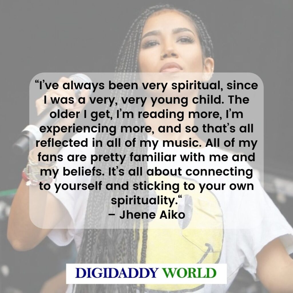 Jhene Aiko Inspirational Quotes