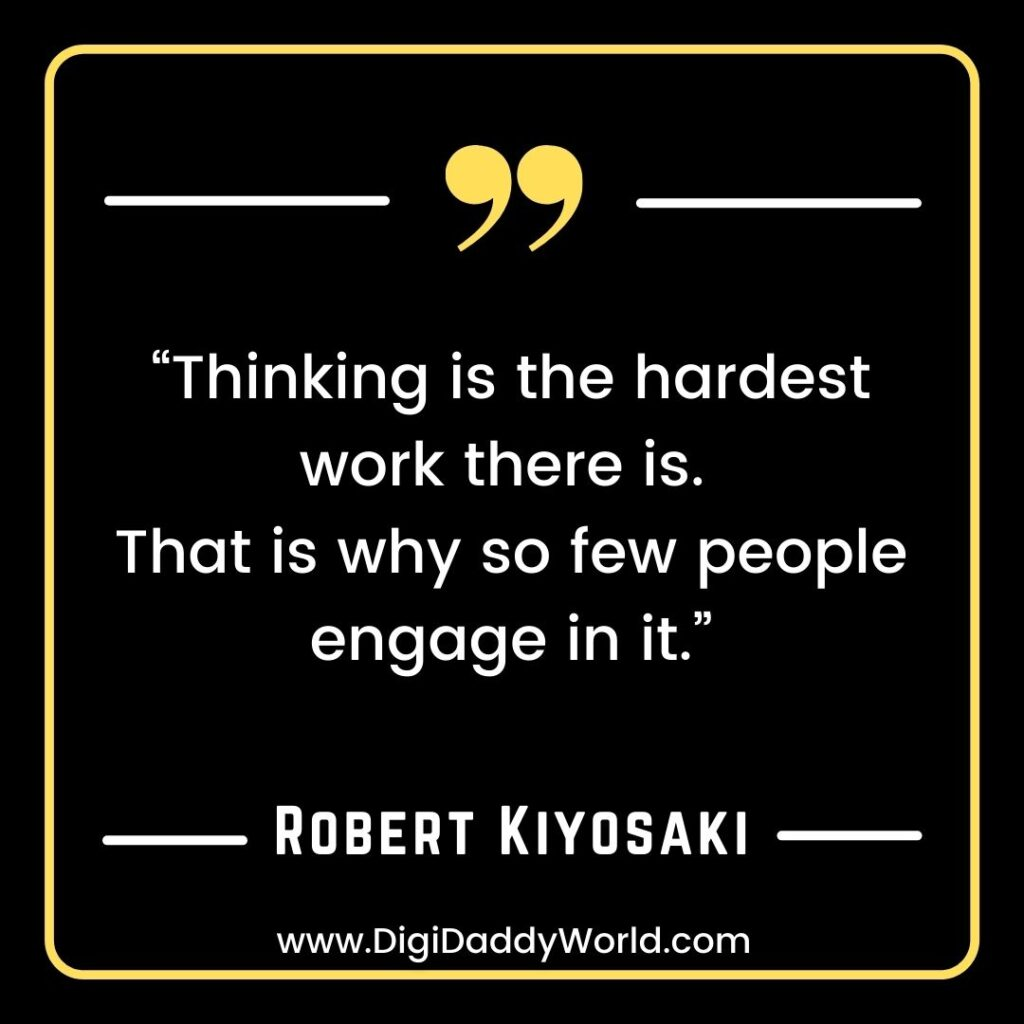 Robert Kiyosaki Quotes About Money