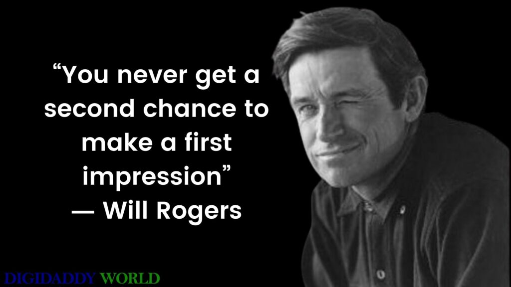 Will Rogers Famous Quotes